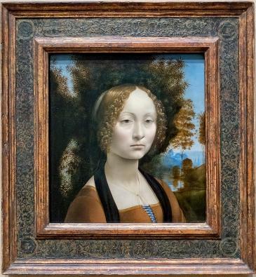 Da Vinci: Ginevra de' Benci