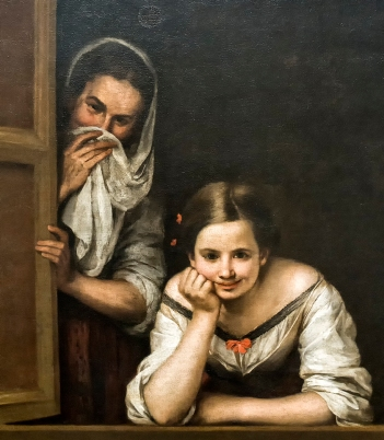 Esteban: Two Women at a Window
